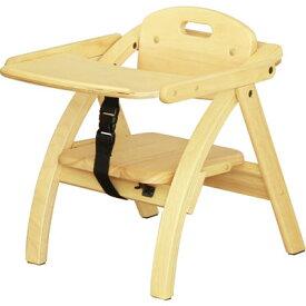 大和屋 アーチ木製ローチェア N NA(ナチュラル) 4539066025307