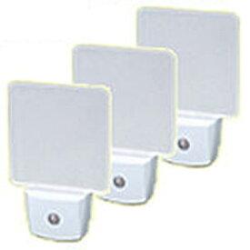 富士パックス販売 LEDナイトランプ 3個組 h673