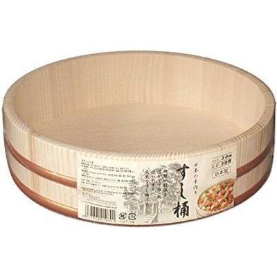 星野工業 日本製 すし桶 3合 30cm(寿司桶・飯台) 4977605010801