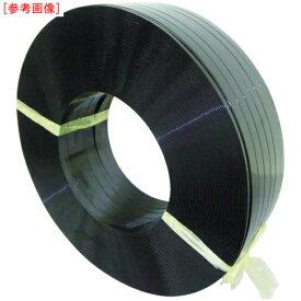 積水樹脂 積水 ポリエステルバンド1906×750M−黒 PET1906M