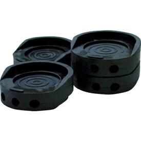 和気産業 WAKI HYPER防振ゴム φ70X25mm ブラック (4個入) EGH005