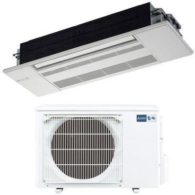 三菱電機 シングルエアコン1方向天井カセット形 RXシリーズ(ホワイトパネル付) MLZ-RX3617AS-W