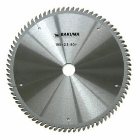 バクマ工業 バクマ スーパープロフェッショナルチップソー トメ切用 216×25.4mm 100P 4983517019634