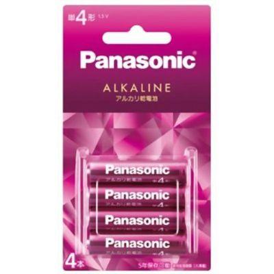 パナソニック パナソニック カラーアルカリ乾電池 単4形 バイオレットピンク LR03LJR/4B 4本入 4984824917163【納期目安:2週間】