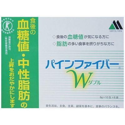 松谷化学工業 パインファイバー W 6g×10包×6袋 E337132H