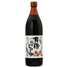 丸島醤油 有機杉樽しょうゆ 濃口 0.9L 4978326016615