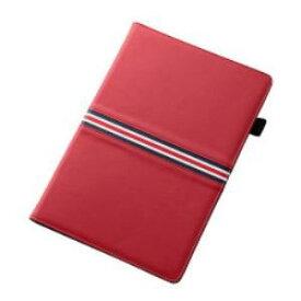 レイ・アウト Xperia Z4 Tabletブックレザー/レッド/レッド・ネイビーライン RT-Z4TLC4/R RTZ4TLC4R-Bケー 4562356975518【納期目安:3週間】