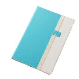 レイ・アウト Xperia Z4 Tabletバイカラー・ブックレザー(合皮)/ブルー/ホワイト RT-Z4TLC7/AW RTZ4TLC7AW-Bケー 4562356975532【納期目安:3週間】