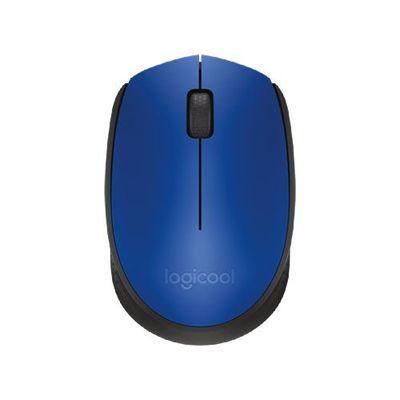 ロジクール ワイヤレスマウス ブルー/ブラック M171BL【納期目安:約10営業日】