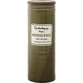 不二貿易 陶製傘立て イリデセンス カーキ GH109580-1 FJ-12295