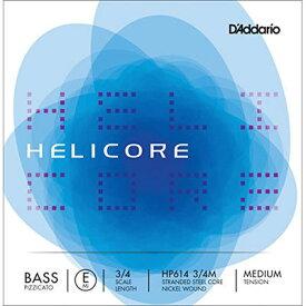 DADDARIO Helicore ヘリコア ピチカート ベース弦E線 HP614 0019954278137