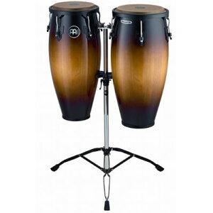 "MEINL Percussion マイネル コンガセット Headliner Series Conga Set 10""/11"" Vintage Sunburst HC888VSB (スタンド付き) 0840553020021"