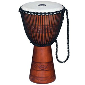 "MEINL ADJ2-L+BAG Original African Style Rope Tuned Wood Djembes / 12"" 0840553061734"
