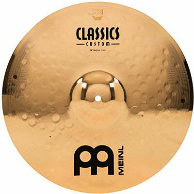 "MEINL CC16MC-B Classic Custom Medium Crash 16"" 0840553010183"