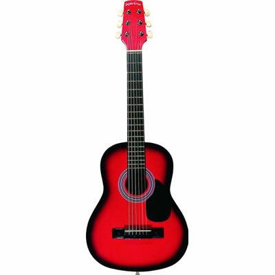 SepiaCrue(セピアクルー) ミニアコースティックギター W50 RDS レッドサンバースト ソフトケース付き 4534853302616