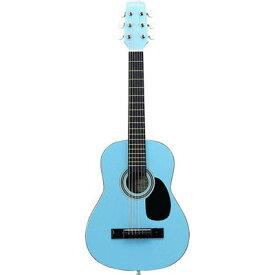 SepiaCrue(セピアクルー) ミニアコースティックギター ライトブルー W50UBLSC ソフトケース付き 4534853336017