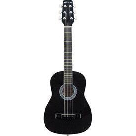 SepiaCrue(セピアクルー) W-50/BK ミニアコースティックギター ブラック W50BKSC ソフトケース付き 4534853336314