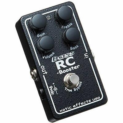 XOTIC エフェクター Bass RC Booster 4582322850052【納期目安:追って連絡】