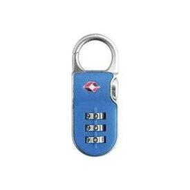 その他 【防犯グッズ:旅行用】YALE(エール) 旅行用TSAロック(CLIP ON LOCK)ブルー ds-507445