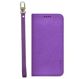 その他 【Galaxy S6 edge ケース】araree Canvas Diary(アラリー キャンバスダイアリー) AR6192GS6E パープル ds-1409651