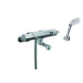 その他 LIXIL(リクシル) サーモスタット付シャワーバス水栓(洗い場専用+シャワースイッチ) RBF-713W ds-1440739
