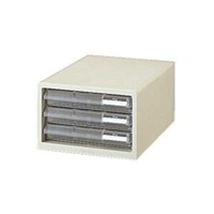 その他 (業務用2セット)プラス レターケース LC-103A A4 浅3 ホワイト ds-1460566