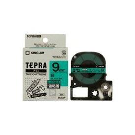 その他 (業務用5セット)キングジム テプラ PROテープ/ラベルライター用テープ 【強粘着/幅:9mm】 SC9GW グリーン(緑) ds-1466149