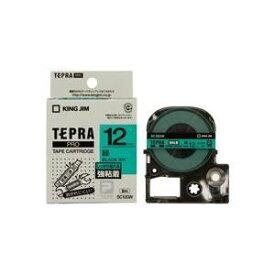 その他 (業務用5セット)キングジム テプラ PROテープ/ラベルライター用テープ 【強粘着/幅:12mm】 SC12GW グリーン(緑) ds-1466155