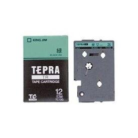 その他 (業務用3セット)キングジム テプラTRテープTC12G 緑に黒文字 12mm ds-1466231