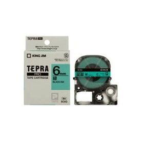 その他 (業務用5セット) キングジム テプラPROテープ/ラベルライター用テープ 【幅:6mm】 SC6G 緑に黒文字 ds-1466263