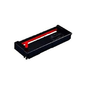 その他 (まとめ) セイコープレシジョン タイムレコーダ用インクリボン 黒・赤 QR-12055D 1個 【×4セット】 ds-1571621