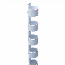 その他 (まとめ) カール事務器 コームリング 直径8mm ホワイト TC-8W 1パック(10本) 【×15セット】 ds-1581138