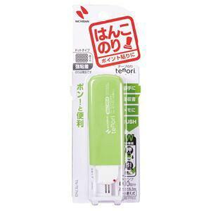 その他 (まとめ) ニチバン テープのり tenori はんこのり 本体 7mm×6.5m グリーン TN-TE7H3 1個 【×15セット】 ds-1584234
