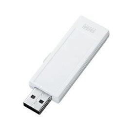 その他 (まとめ)サンワサプライ USB2.0メモリ(4G、手書き可能) UFD-RNS4GW【×2セット】 ds-1617070