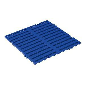 その他 三甲(サンコー) サンスノコ(すのこ板/敷き板) 615mm×615mm 樹脂製 ジョイント有 #660-3 ブルー(青)【代引不可】 ds-1647284