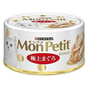 その他 (まとめ)ネスレ モンプチ ゴールド缶 極上まぐろ 70g 【猫用・フード】【ペット用品】【×24セット】 ds-1665755