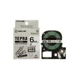 その他 (業務用50セット) キングジム テプラ PROテープ/ラベルライター用テープ 【強粘着/幅:6mm】 SS6KW ホワイト(白) ds-1733324