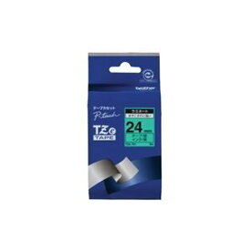 その他 (業務用30セット) brother ブラザー工業 文字テープ/ラベルプリンター用テープ 【幅:24mm】 TZe-751 緑に黒文字 ds-1733587