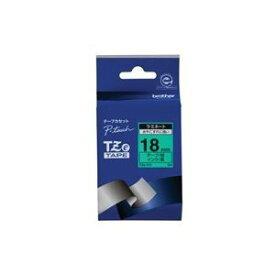 その他 (業務用30セット) brother ブラザー工業 文字テープ/ラベルプリンター用テープ 【幅:18mm】 TZe-741 緑に黒文字 ds-1733588