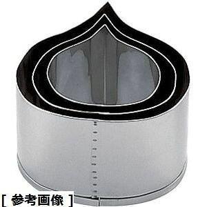 TKG (Total Kitchen Goods) SA18-8業務用抜型栗(中) BNK7103