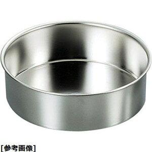 遠藤商事 SA18-8総絞りチーズケーキ用デコ共底(浅型 24) WDK01024