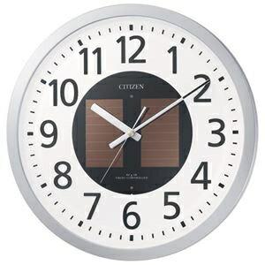 その他 リズム時計 シチズン電波掛時計 4MY815-019 ds-1825553