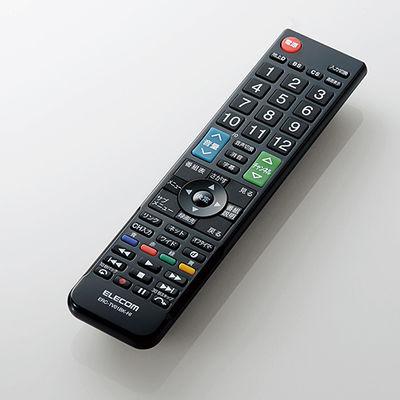 エレコム かんたんTVリモコン/日立・Wooo用/ブラック ERC-TV01BK-HI
