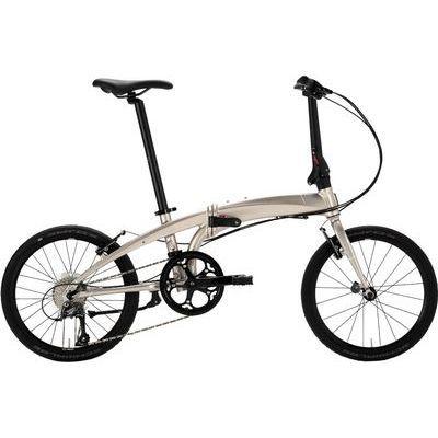 "tern(ターン) ヴァージュ(Verge N8) 20""(406) 8speed Pale Gold/Silver (White) アルミフレーム 折りたたみ自転車 18VRN8PGSL"