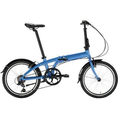 "tern(ターン) リンク(Link A7) 20""(406) 7speed Dark Blue/Blue アルミフレーム 折りたたみ自転車 18LIA7DB00"