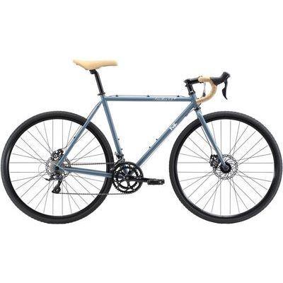 FUJI 2018年モデル フェザー シクロクロス(FEATHER CX+) 56cm 2x9speed ブルーグレー ロードバイク 18FEACGY56
