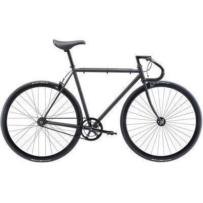 FUJI 2018年モデル フェザー(FEATHER) 54cm シングル マットブラック ロードバイク 18FETRBK54