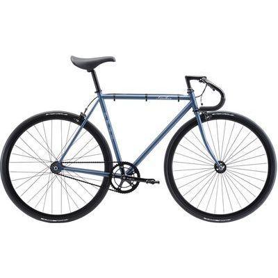 FUJI 2018年モデル フェザー(FEATHER) 58cm シングル マットブルーグレー ロードバイク 18FETRGY58