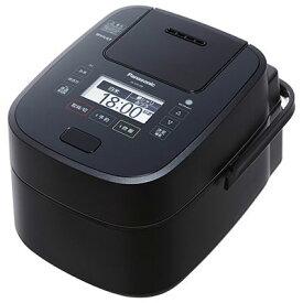パナソニック 可変圧力スチームIH炊飯ジャー 「Wおどり炊き」(5.5合) ブラック SR-VSX108-K