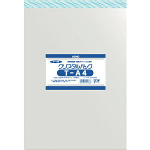 トラスコ中山 HEIKO OPP袋 テープ付き クリスタルパック T-A4 6743200T22.531